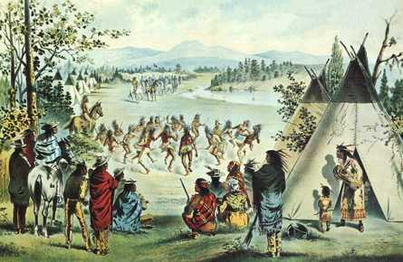 Many Native Americans, mostly Cherokee, were forced to move.