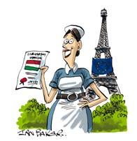REGULATED PROFESSIONS Hungarian diploma recognised in France A French citizen with a Hungarian nursing diploma applied for recognition of her professional qualifications in France so that she could