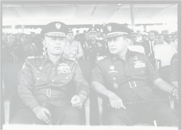 Indonesia Dwifungsi of army: both defenders of the nation and as a social-political force