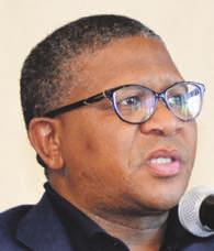 no longer a gangster. Mbalula warned gangs that it was just a matter of time Minister Fikile Mbalula has vowed to end gang rule. before cops dealt with them.