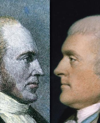 The Election of 1796 In 1796, the Democratic- Republican candidate Thomas Jefferson finished a close second to Federalist John