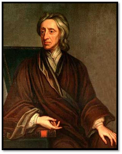 Locke: The Reluctant Democrat John Locke (1632 1704) was born shortly before the English Civil War. Locke studied science and medicine at Oxford University and became a professor there.