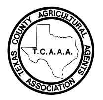 HANDBOOK TEXAS COUNTY AGRICULTURAL AGENTS ASSOCIATION