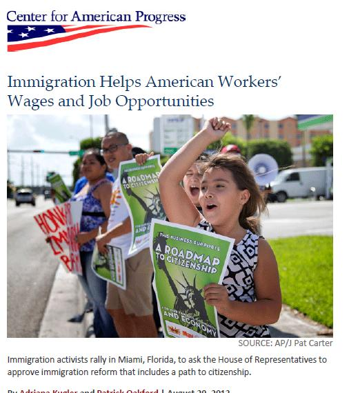 Type 2: immigrants create jobs and help wages Immigrants stimulate growth They take jobs that Americans do not want Help