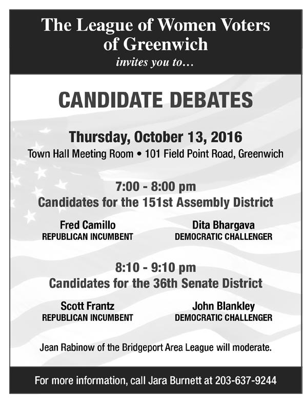Debate Event Help Needed To volunteer to help with the event, please contact Jara Burnett at cdb299@aol.com.