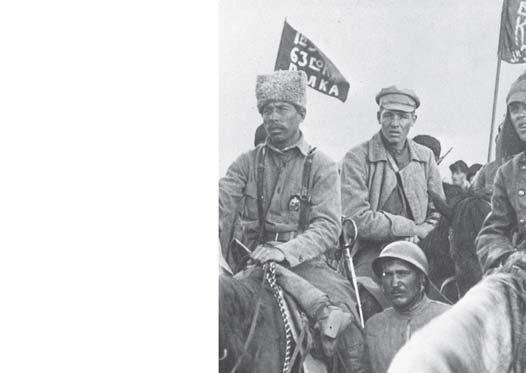 the Bolshevik Red Guards, they took over government offices and arrested the leaders of the provisional government.