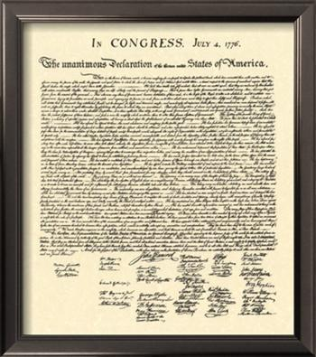 The Philosophy of Independence The Declaration of Independence was written by Thomas Jefferson But it was heavily influenced by two sources: 1.