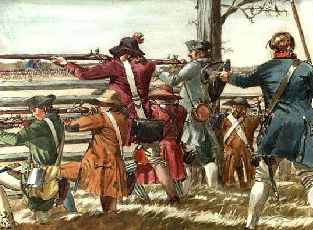 Retreat to Boston The events at Lexington were a DECISIVE display of British Redcoat skill and discipline But when it was over, the Redcoats found themselves in ENEMY TERRITORY, 20 miles from Boston