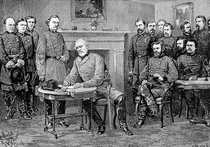 Appomattox Court House On April 9, 1865, Lee