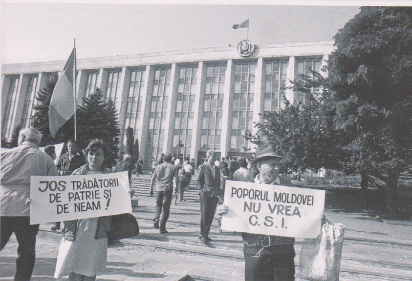 Sergiu Musteată independence of the Republic of Moldova on 3 September 1991.