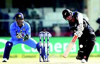 The Black Caps levelled the five-match series 1-1 and in the process also won their first game of the tour. India were all-out for 236 in 49.3 overs chasing a target of 243.