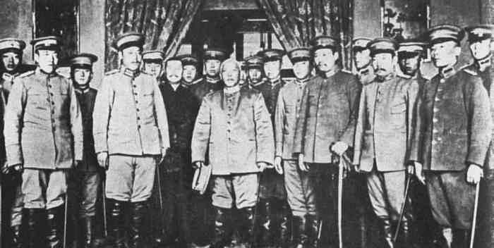 However, after only 44 days in office Sun Yat sen was forced to hand over power to the Chinese army led by Yuan Shikai.