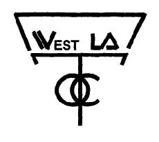West Los Angeles Obedience Training Club, Inc. Bylaws The West Los Angeles Obedience Training Club, Inc. is officially associated with the United Kennel Club, Inc. ARTICLE I.