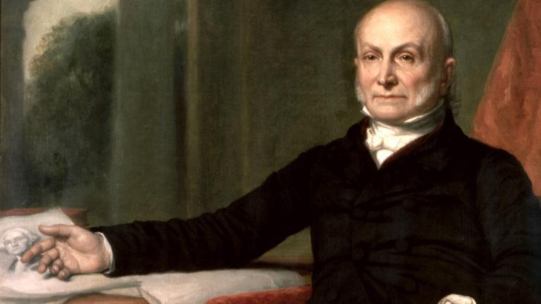 President John Quincy Adams Alienates Jacksonians by asking Congress for $ for internal improvements, aid to