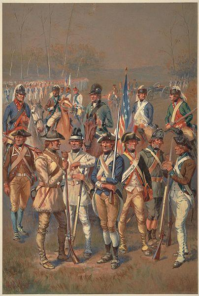 Continental Army in 1775 Congress votes the