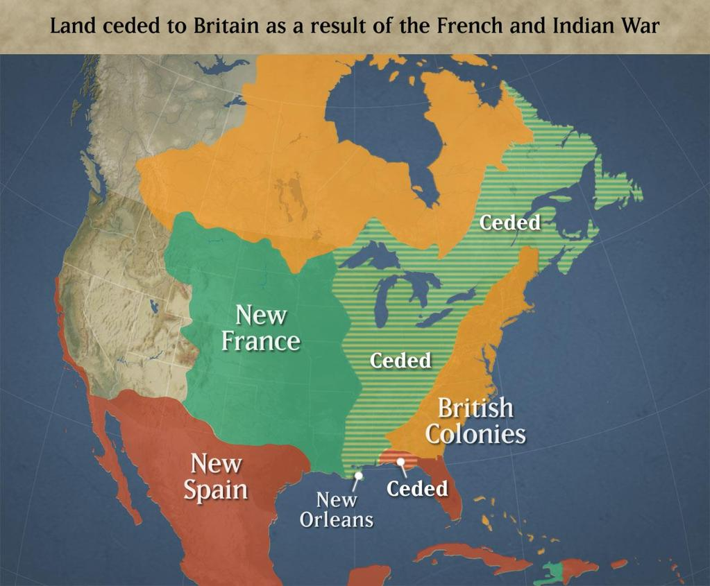 2 nd Cause: French and Indian War Long and expensive war fought from 1756 to 1763 between: England and the 13 Colonies vs.