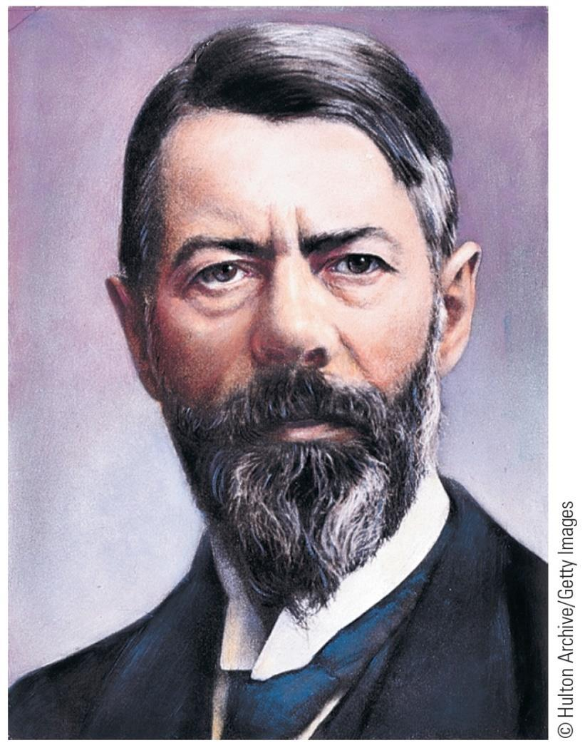 Max Weber (1864-1920) The Protestant Ethic and the Spirit of Capitalism Felt sociologist could never capture the