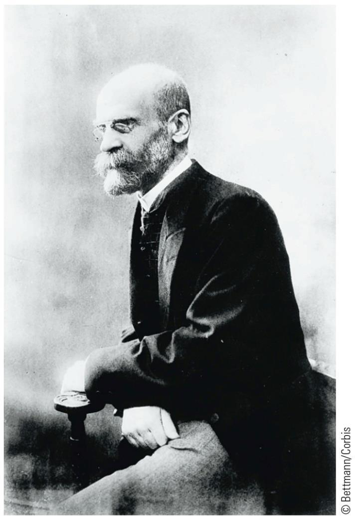Emile Durkheim (1858-1917) people are the product of their social environment