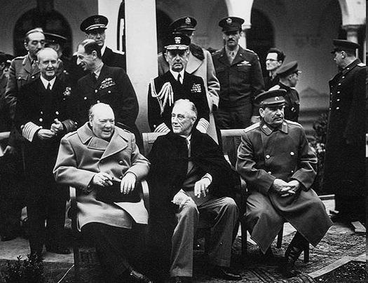 Yalta Conference Feb, 1945 Poland In 1944, as the Soviet troops liberated Poland, the Soviets pushed Polish Communists to set up a new government.