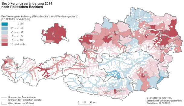 University cities Tourism hot-spots (Western Austria; Tirol) Structural Disadvantaged Regions Low accessibility Border