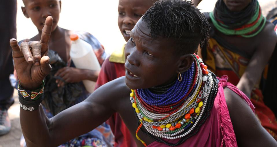 of the 100 percent restricted cash transfer on gender, protection and accountability in affected populations in Kalobeyei; formulate recommendations to maximize gender and protection and mitigate