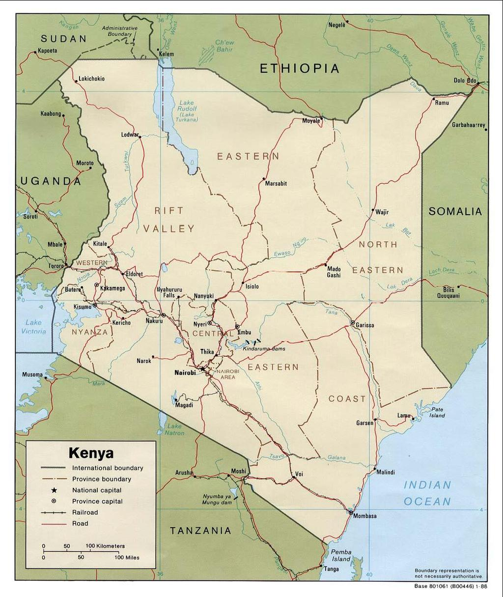 - 38 - Map 1: EPZs with apparel firms (2005) Nairobi: various EPZs, 6 firms (some multiplant) Athi River: 1 EPZ, 7 firms Voi: 1 EPZ,