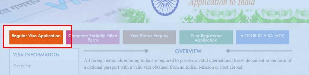 India Visa: Application Guide The following is a guide to completing the India visa application.