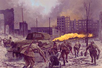 Improve your knowledge The Russians took very high casualties to capture Berlin in