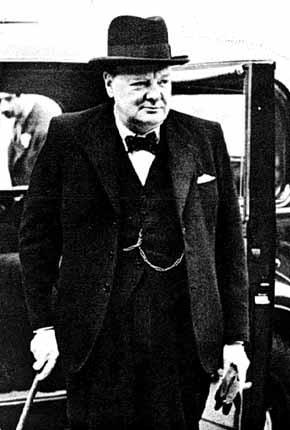1946: Iron Curtain Speech Former British Prime Minister Winston Churchill gave a speech at a small college in Missouri