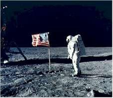 3. To the Moon The Soviets and Americans competed to develop new technology.