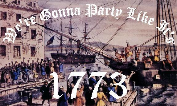 15. The Sons of Liberty organized the Boston Tea
