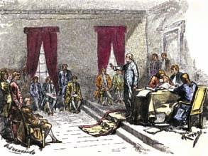 PHOTO: North Wind Picture Archives/Alamy TM netw rks Read Chapter 5 Lesson 2 in your textbook or online. The Constitutional Convention On May 25, 1787, a convention began in Philadelphia.