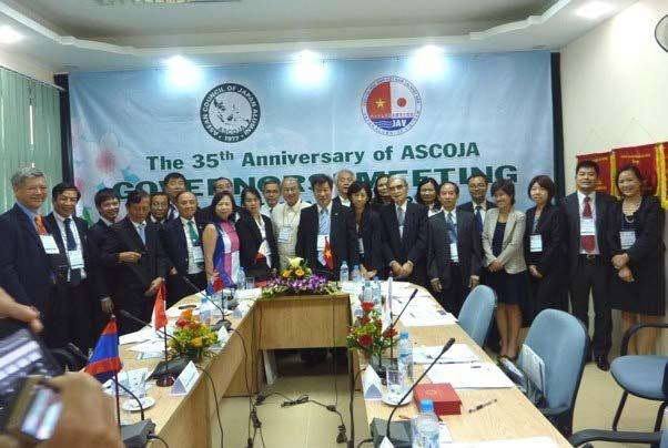 In 2000, ASJA (ASIA Japan Alumni International) was launched with the support of the Japanese Ministry of Foreign Affairs to promote mutual understanding and networking among
