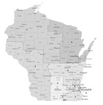 WISCONSIN CRITERIA: Congressional districts are subject only to federal constitutional and statutory limitations. State legislative districts must be contiguous, and as compact as practicable.