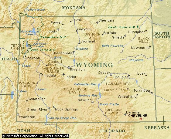 Wyoming s Big Horn River 340 miles long Formed in central Wyoming by the Popo Agie and Wind rivers Main tributary of the Yellowstone River