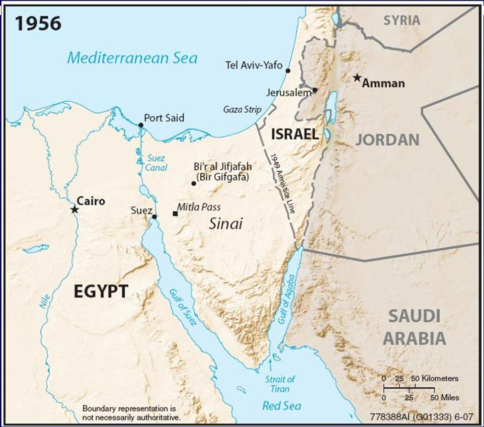 Suez Crisis Egyptian leader Gamal Nasser nationalized the
