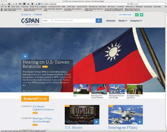 C-SPAN.org provides daily, live coverage of public affairs events with a federal focus, including the House, Senate, congressional hearings, the White House and Supreme Court oral arguments audio.