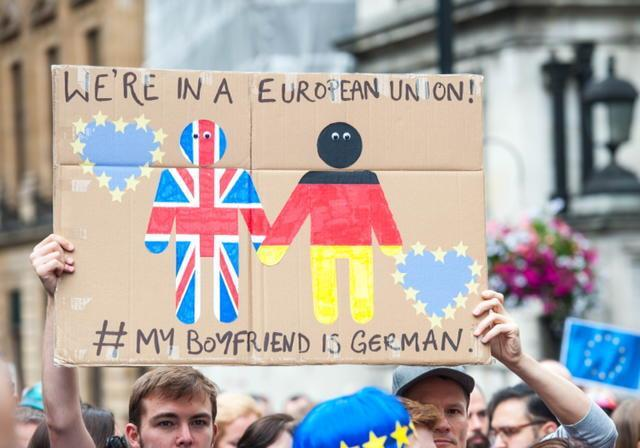 SPEAKING Find a partner and talk about the following prompts: I What does the EU mean to you? What are the advantages of being in this union?