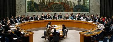The United Nations Security Council 15 voting nations: 5 permanent members (Britain, China, France, Russia, United States), 10 nonpermanent members appointed