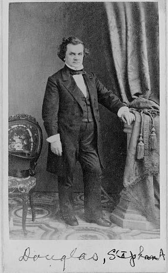 Douglas, full-length portrait, facing front, 1860, Source: Library of Congress, http://www.loc.