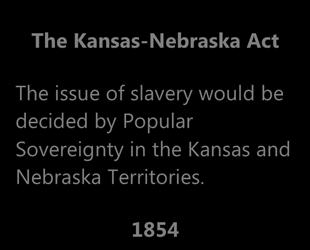 and that the Missouri Compromise was unconstitutional.