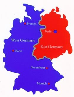 Germany - Democratic Republic of Germany) and strip industrial capacity Eng/Fr/US combo