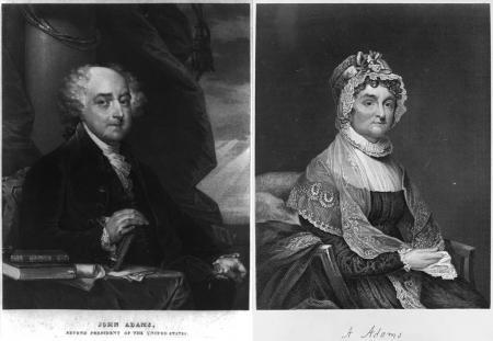 Abigail & John Adams Married in 1764, lived on farm in Braintree, MA with 5 children She remained home with farm and business, while he participated in government