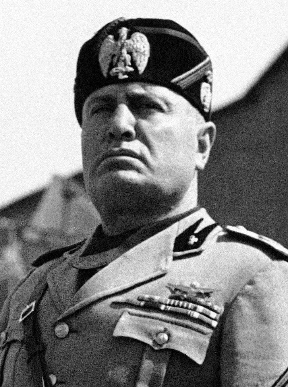 Benito Mussolini: Italy In 1919, Mussolini formed the Fascist Party after serving in WWI; he got the support of unemployed war veterans The veterans were organized into armed