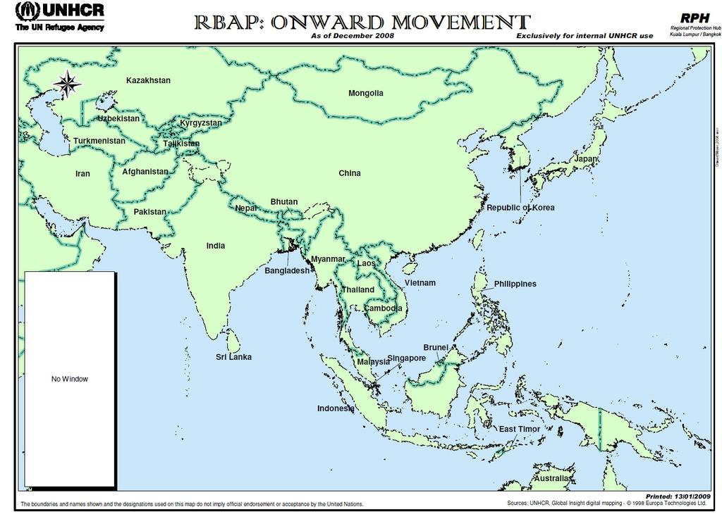 Movement in the Asia-Pacific COO: Sri Lanka LEGEND Onward Mover Stop