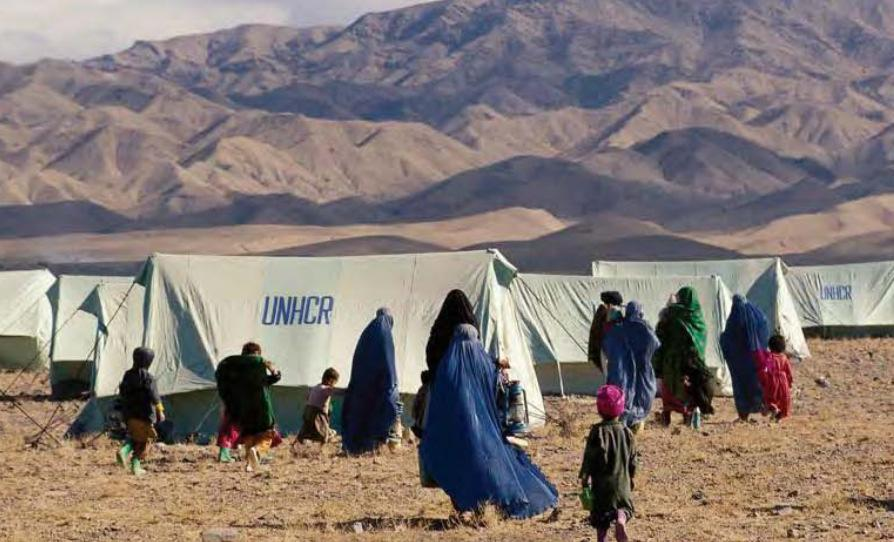 Afghan Refugees Main Host Countries in the Asia- Pacific * Pakistan 767,500 (plus 1 million unregistered) Islamic Republic of Iran 937,170 India -