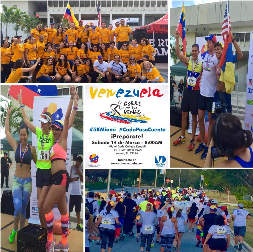 Cultural and sports activities A Marathon for Venezuela was organized for the second time at MDC s Kendall Campus.