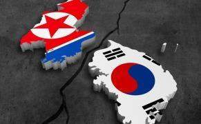 How did Korea end up divided like Germany?