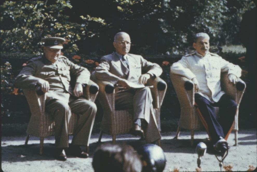 The Potsdam Conference (July, 1945) Truman argued that Germany was essential to the economic development of Europe Stalin argued that Germany should pay
