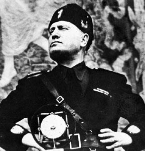 Benito Mussolini 1922 Country: Italy Type of Government: Fascism (dictatorship)